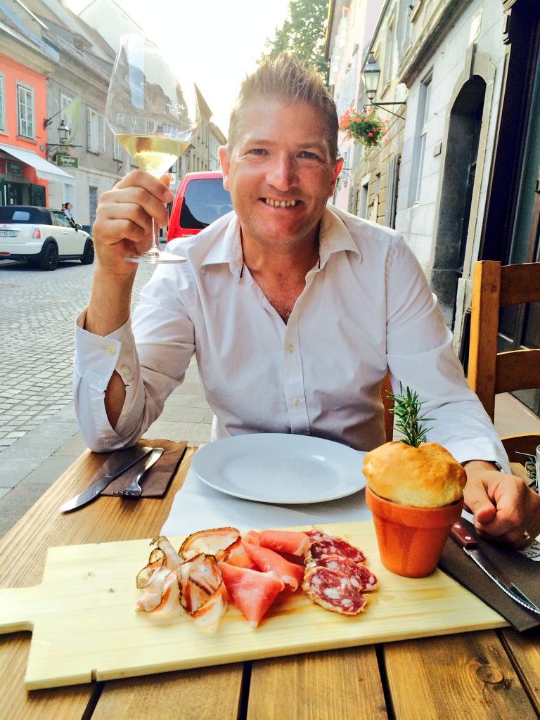 Ljubljana's best restaurants for the Telegraph